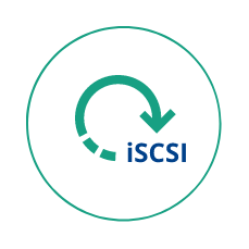 Ingenious backup and restore using iscsi technology