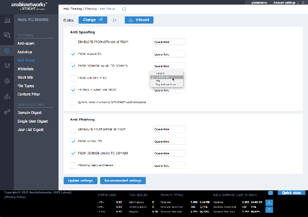 Customize filter rules