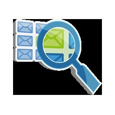 Effektive Suchfunktion im E-Mail-Archiv